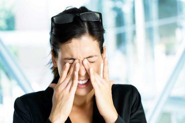 Двоение в глазах при шейном остеохондрозе - причины