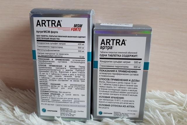 АРТРО-ПЛЮС - инструкция по применению, цена, отзывы и аналоги
