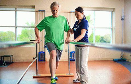 Как разрабатывать ногу после перелома - методы реабилитации