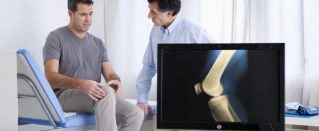 Жидкость в коленном - суставе лечение народными средствами