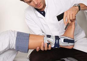Двухлодыжечный перелом со смещением и без - лечение