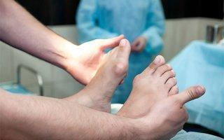 Удаление шишек на ногах лазером - эффективность процедуры
