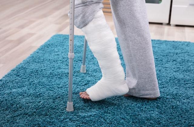 Психосоматика - перелом ноги, руки и других возможных локаций