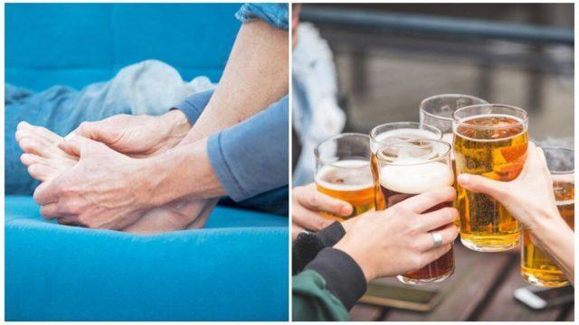 Можно ли при подагре пить водку и другой алкоголь