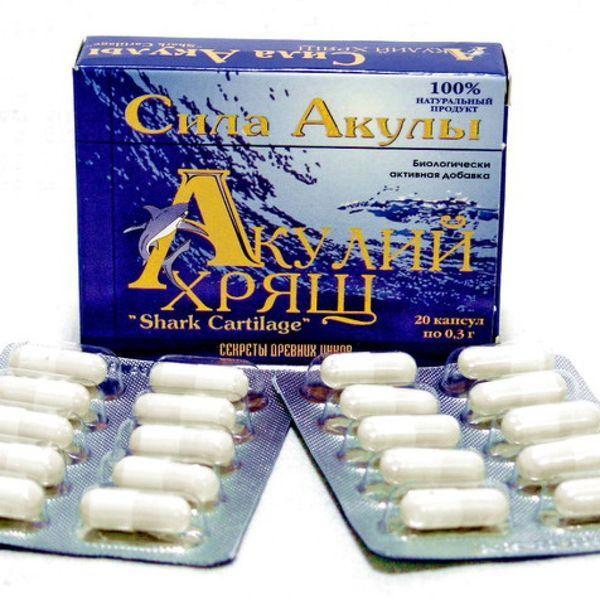 АКУЛИЙ ХРЯЩ - полезные свойства, противопоказания, отзывы, цена