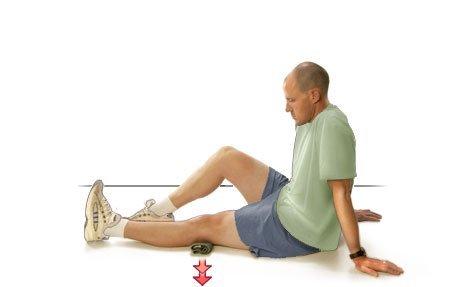 Упражнения при болях в коленях - правила выполнения гимнастики