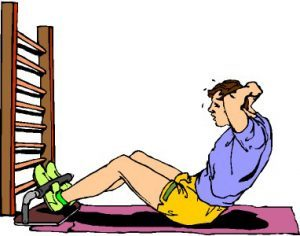 Упражнения на пресс при грыже позвоночника - правила выполнения