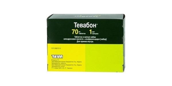 ТЕВАБОН - инструкция по применению, цена, отзывы и аналоги