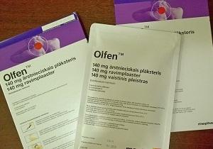 ОЛФЕН - инструкция по применению, цена, отзывы и аналоги