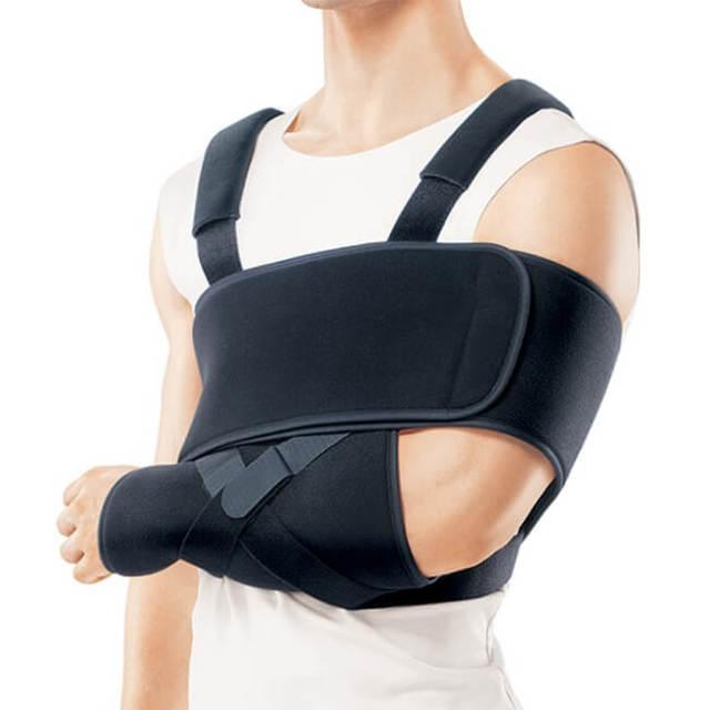 Повязка на руку при переломе - выбор бандажа