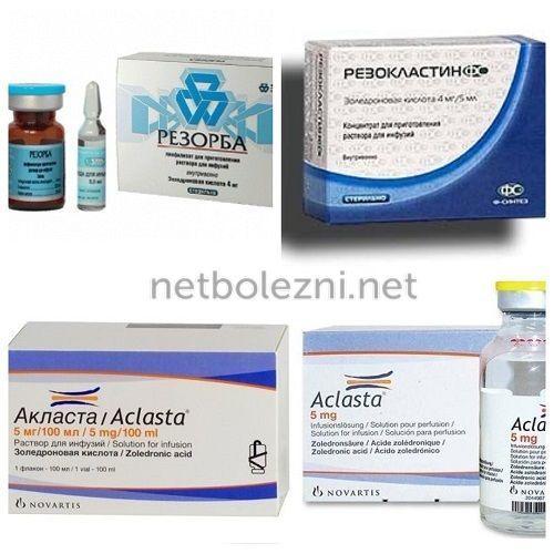 Остеопороз лечение - препараты список лучших