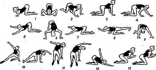 Упражнения при кифозе грудного и шейного отдела позвоночника