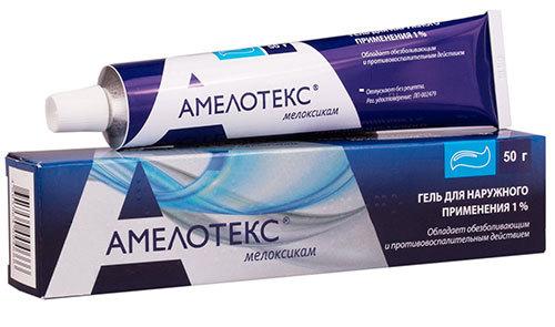 АМЕЛОТЕКС ГЕЛЬ - инструкция по применению, цена и отзывы