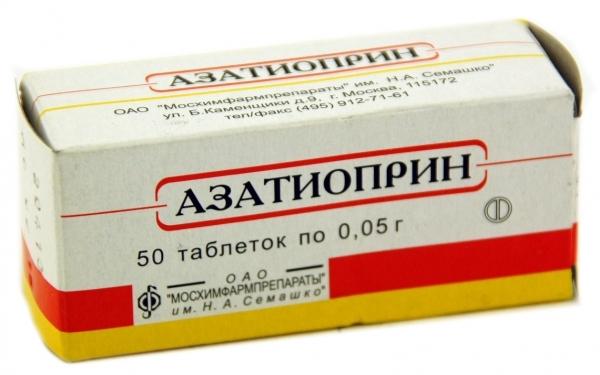 АЗАТИОПРИН - инструкция по применению, цена, отзывы и аналоги